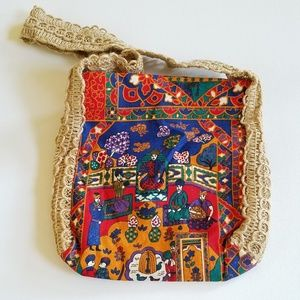 Paul B Stone Hawaiian Originals Crossbody Bag